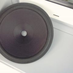 295 mm  Speaker cone                         MF 12