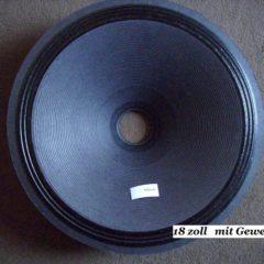 450 mm  Speaker cone                  MT 18