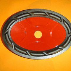 228 mm x 153 mm Speaker cone                MR 27