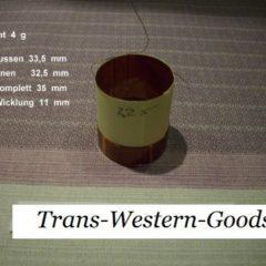 """VC 26  voice coil   32,5 mm  4 OHM - 1,28 """""""