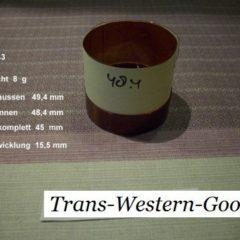 """VC 53  voice coil     76,2 mm  8 OHM  - 3,0 """""""