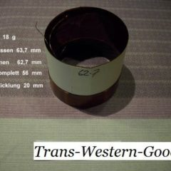 """VC 49  voice coil     62,7 mm  8 OHM  - 2,47 """""""