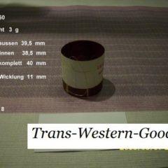 """VCM 60  voice coil   38,50 mm   8 OHM - 1,52 """""""