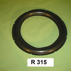 295 mm  speaker surround R315
