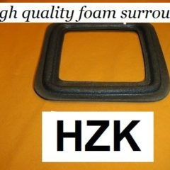 170 mm  square  speaker surround     HZK