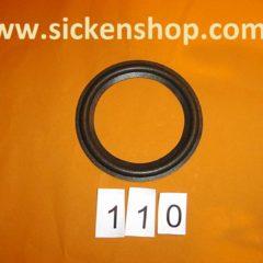3,98 inch   speaker surround 110