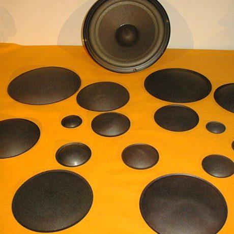 043-6    speaker dust cap     P 43 1