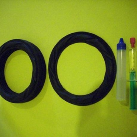 7 inch rubber kit