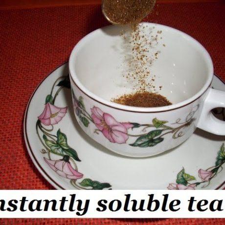 Munjal Instant Tea – NEW NEW soluble black tea 1