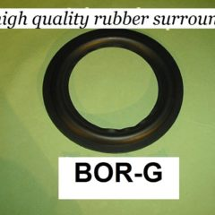 172 mm  speaker surround              BOR-G