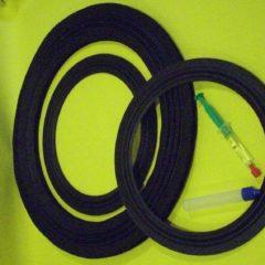 Altec Lansing  3182   rings  set incl adhesive+remover