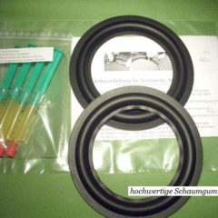RFT  L1714  rings refoam set incl adhesive+remover