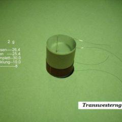 """VC 03  voice coil    25,40 mm   8 OHM - 1,0 """""""
